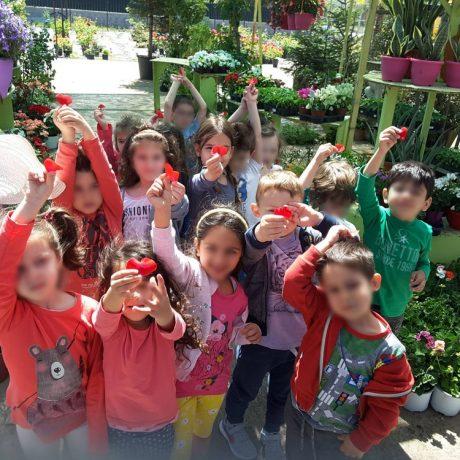 Επίσκεψη στα φυτώρια «Μανώλια»